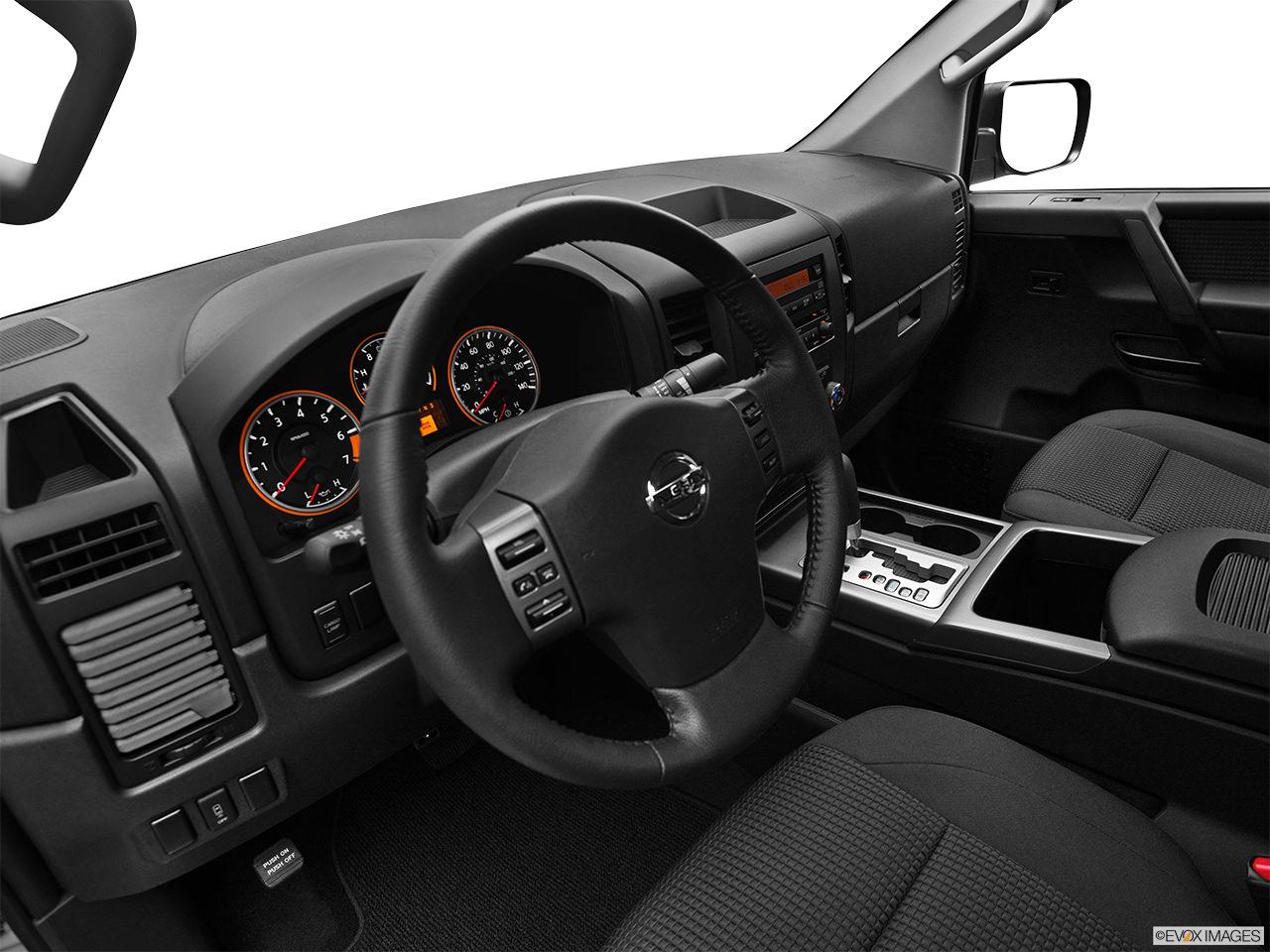 Nissan Titan 2012 Interior
