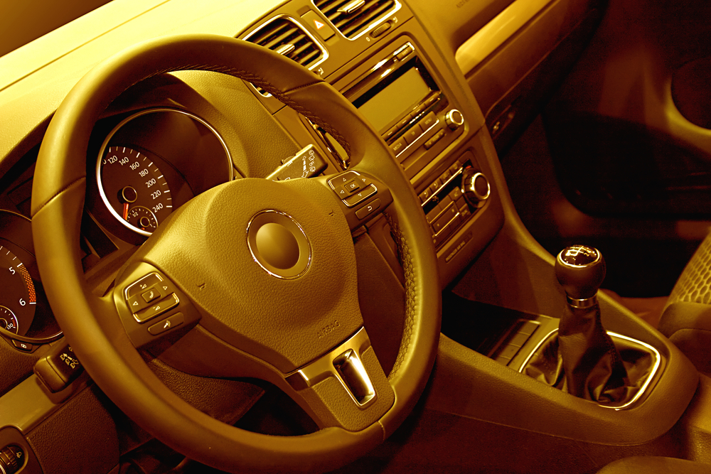 Non-Adjustable Steering Wheel