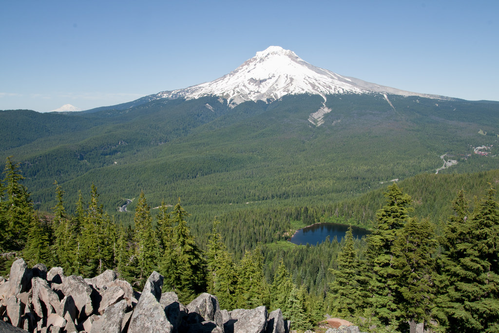 Mount Hood National Forest Oregon