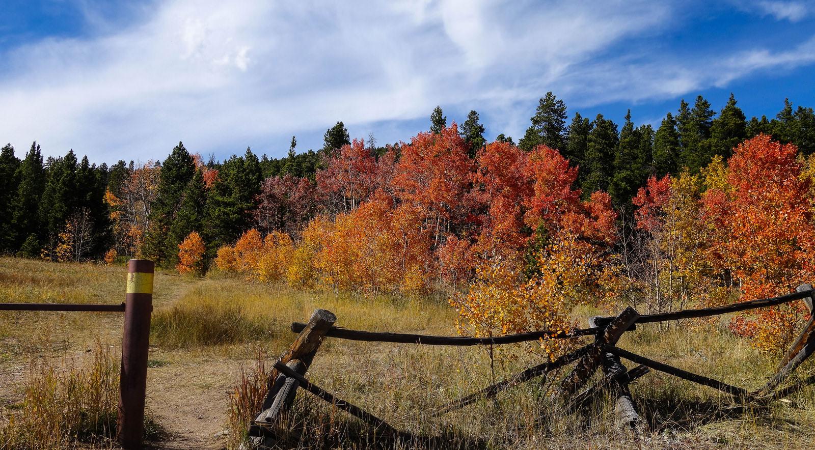 Peak to Peak Scenic Byway Colorado