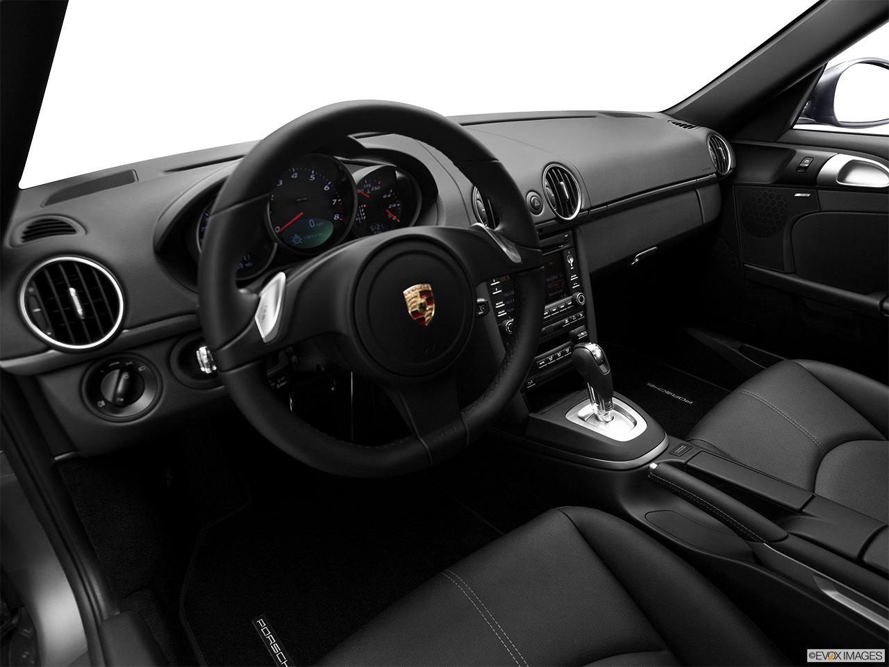 Porsche Cayman 2012 interior