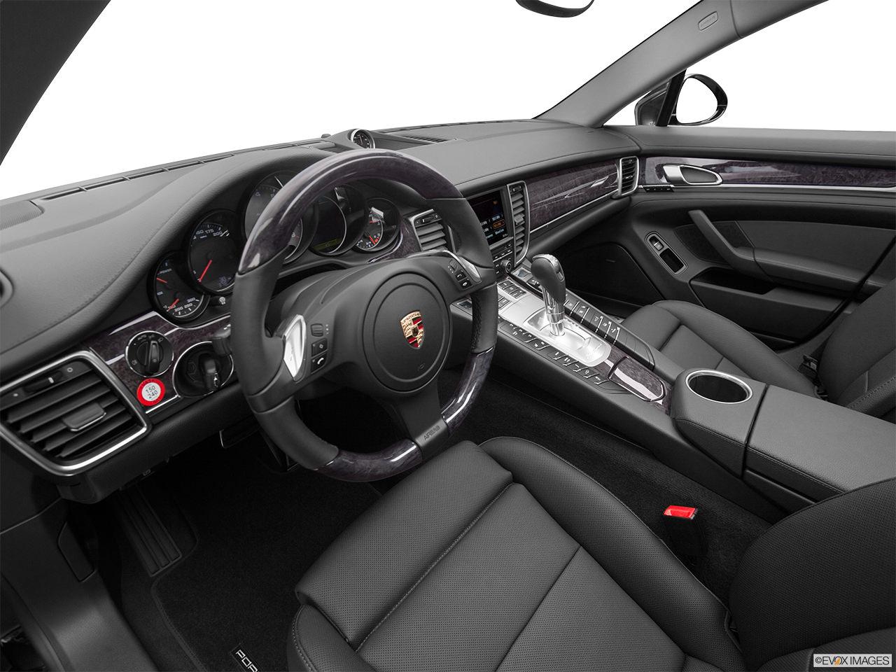 Porsche Panamera Hybrid 2012 Interior