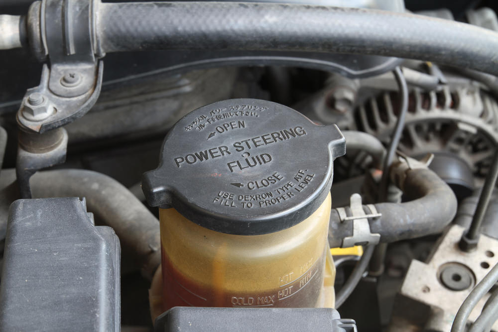 power steering fluid service