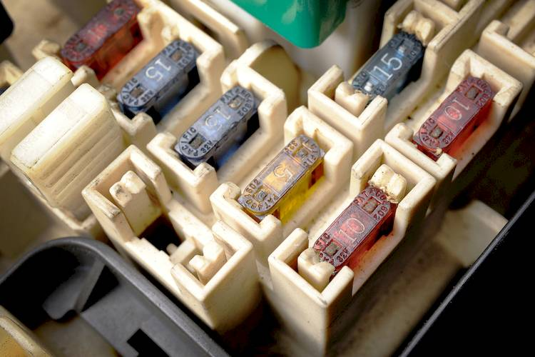 SBF fuse box symptoms of a bad or failing fuse box yourmechanic advice how to fix a broken wire car fuse box at fashall.co