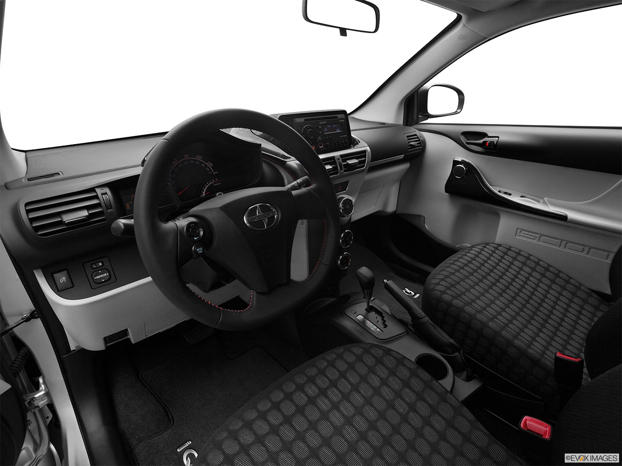 Scion iQ 2012 Interior