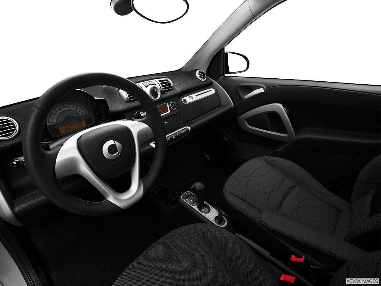 Smart ForTwo EV 2012 Interior