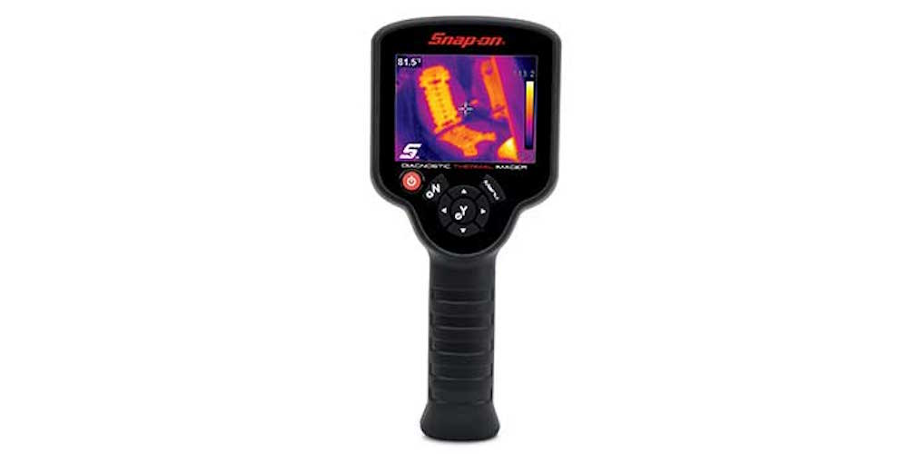 Snap On thermal imaging tool