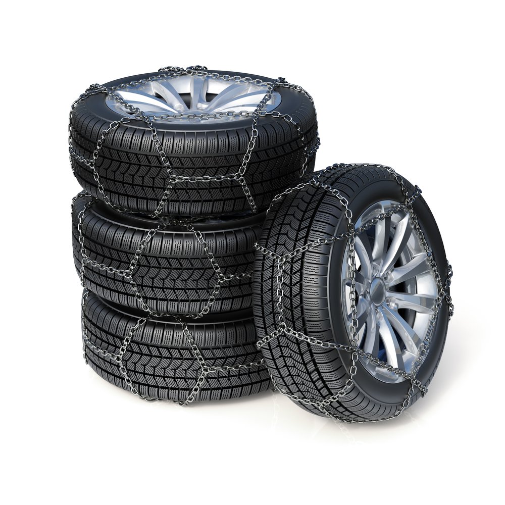 Snow Tires and Snow Chains
