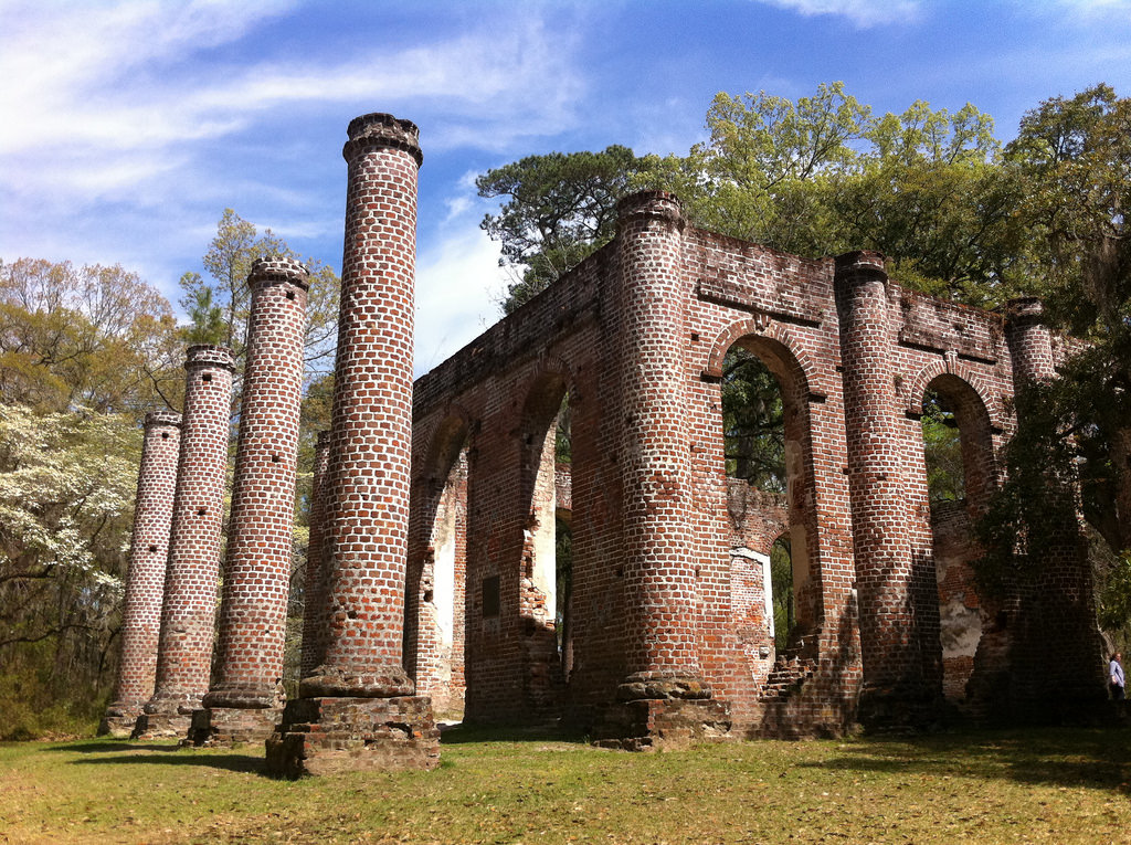 Old Sheldon Church Ruins Loop South Carolina