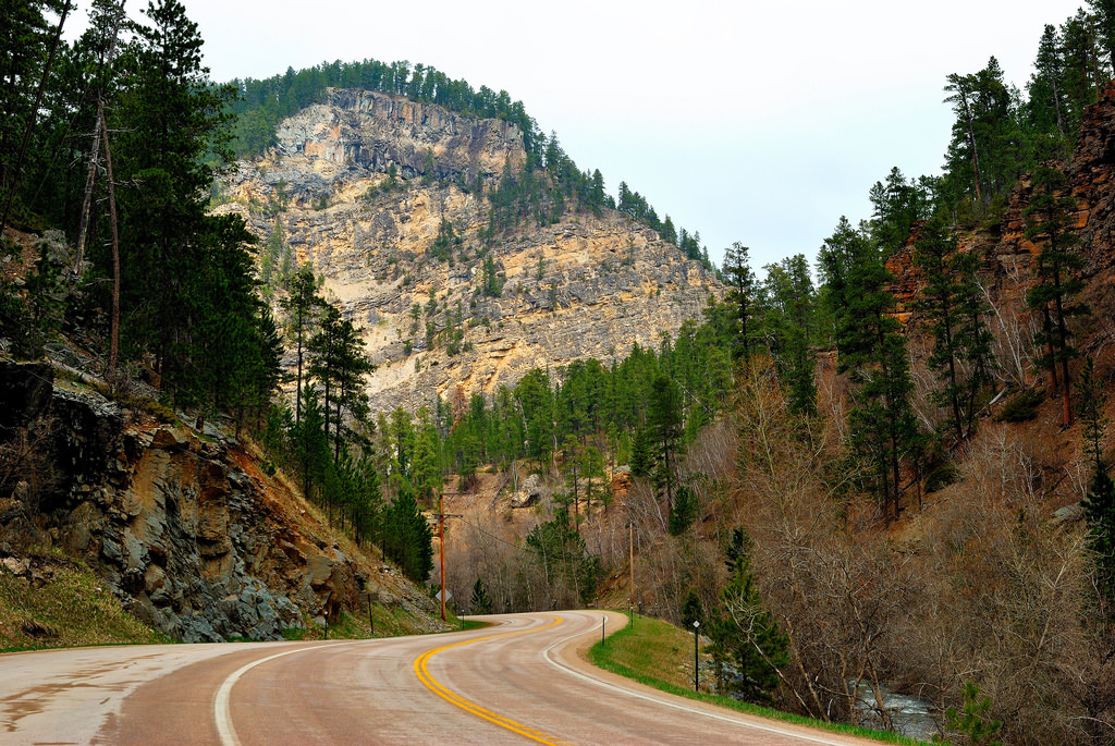 Spearfish Canyon State and National Scenic Byway South Dakota