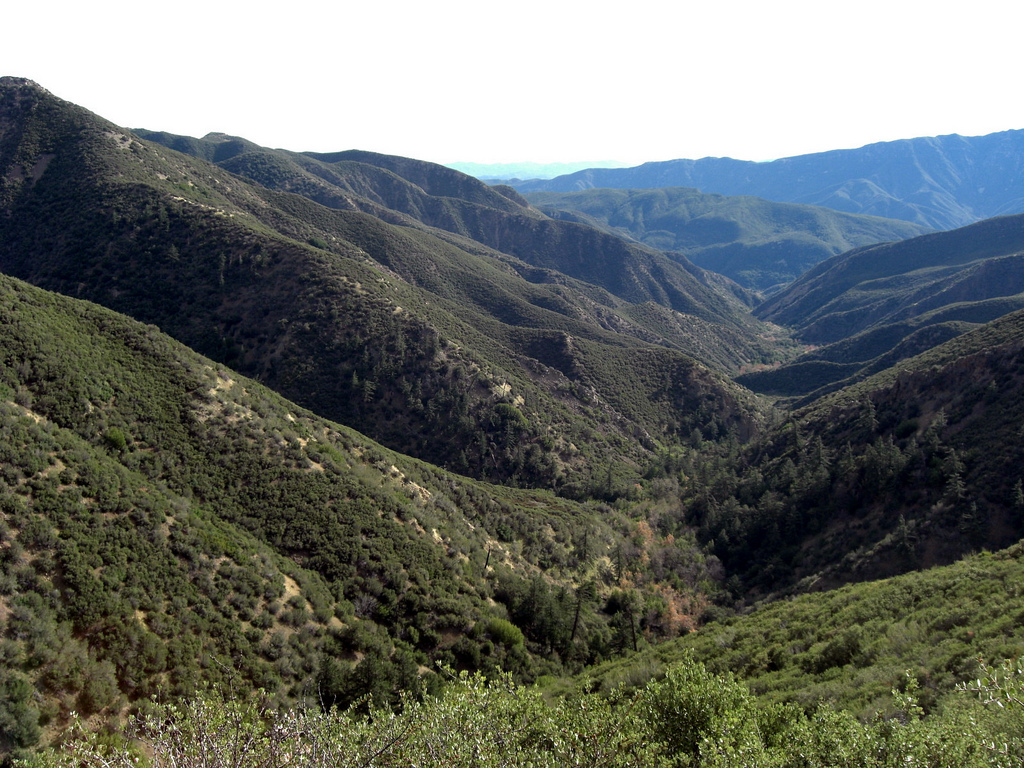 Jacinto Reyes Scenic Byway Southern California