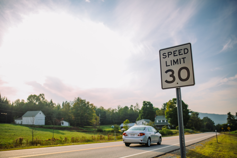Vermont Speed Limits, Laws, and Fines