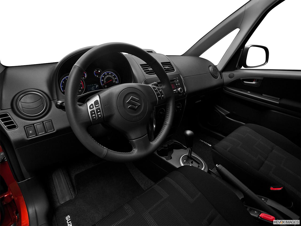 suzuki sx4 2012 interior