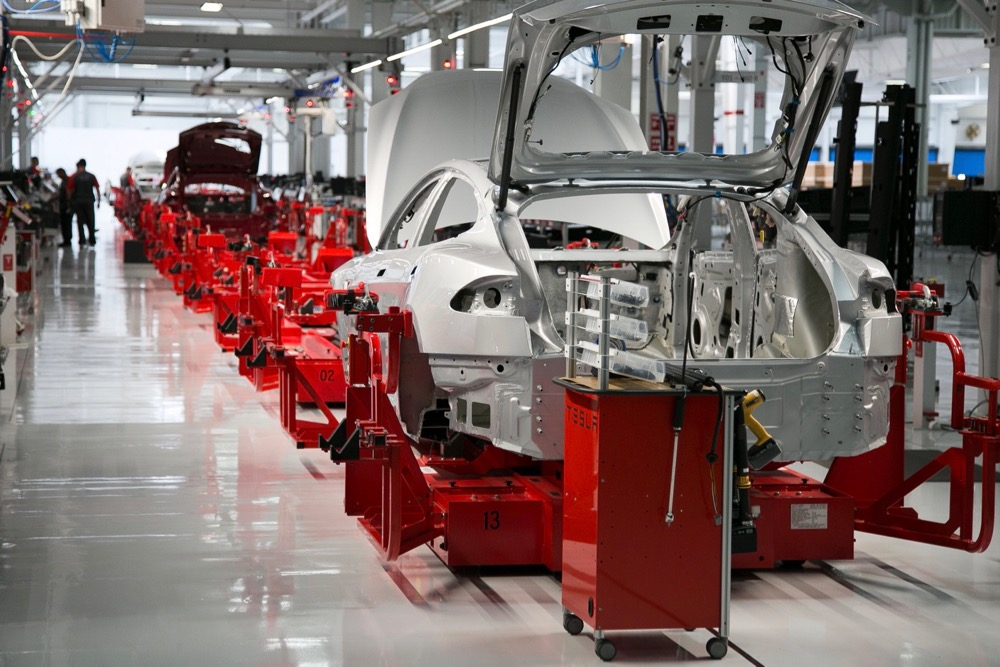 Tesla Automated Manufacturing