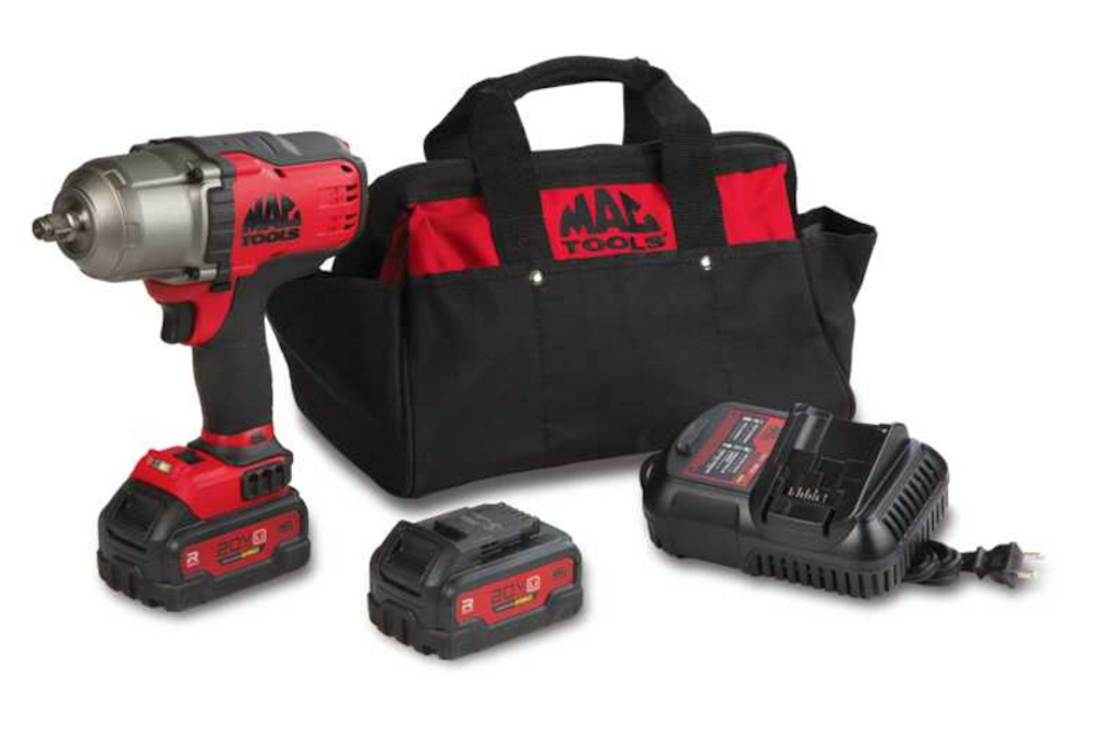 The Best Tool that Has No Dependence on an Air Compressor Mac Tools Drive High Torque Brushless Impact Wrench Kit