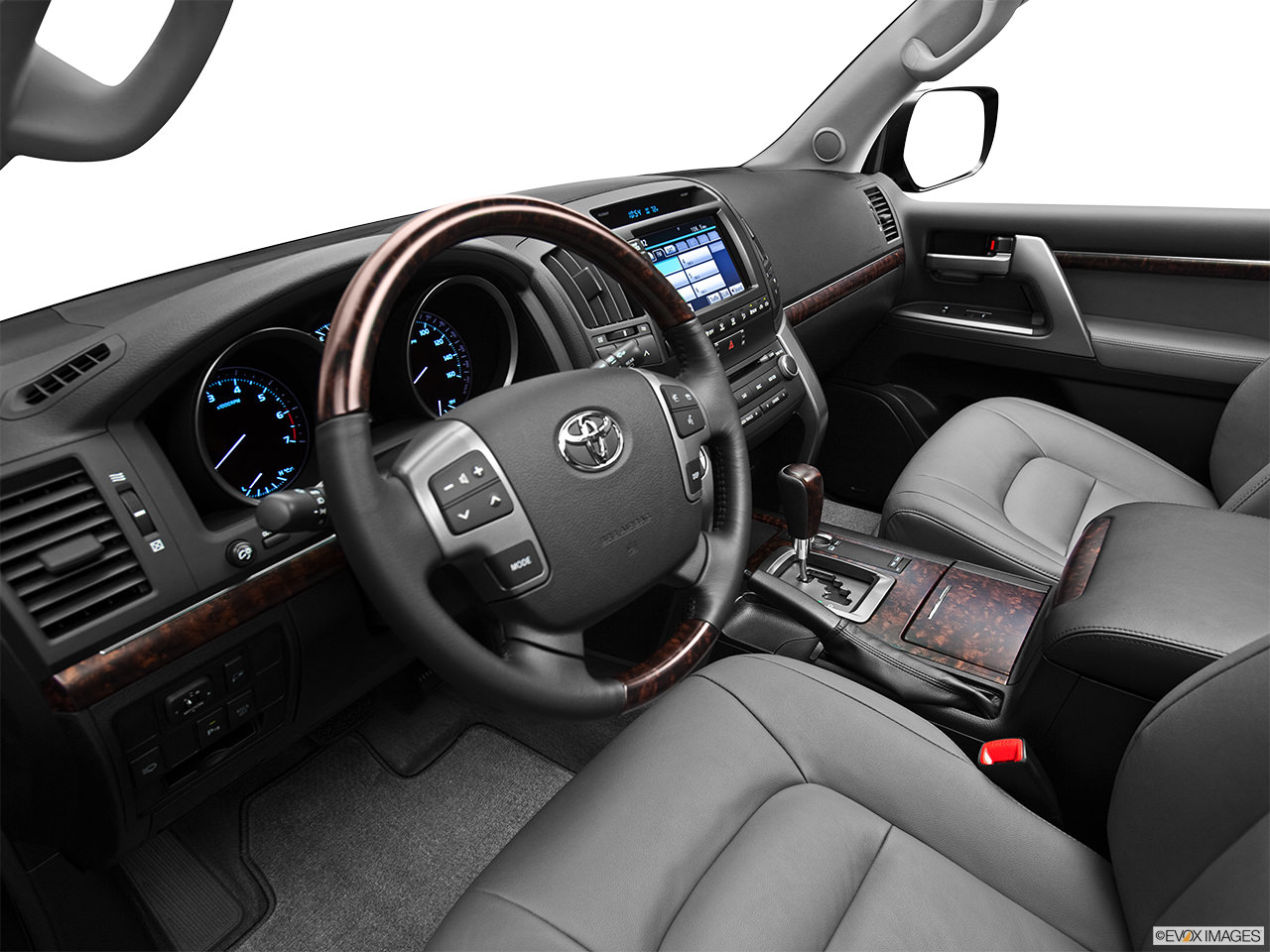 Toyota Land Cruiser 2011 Interior