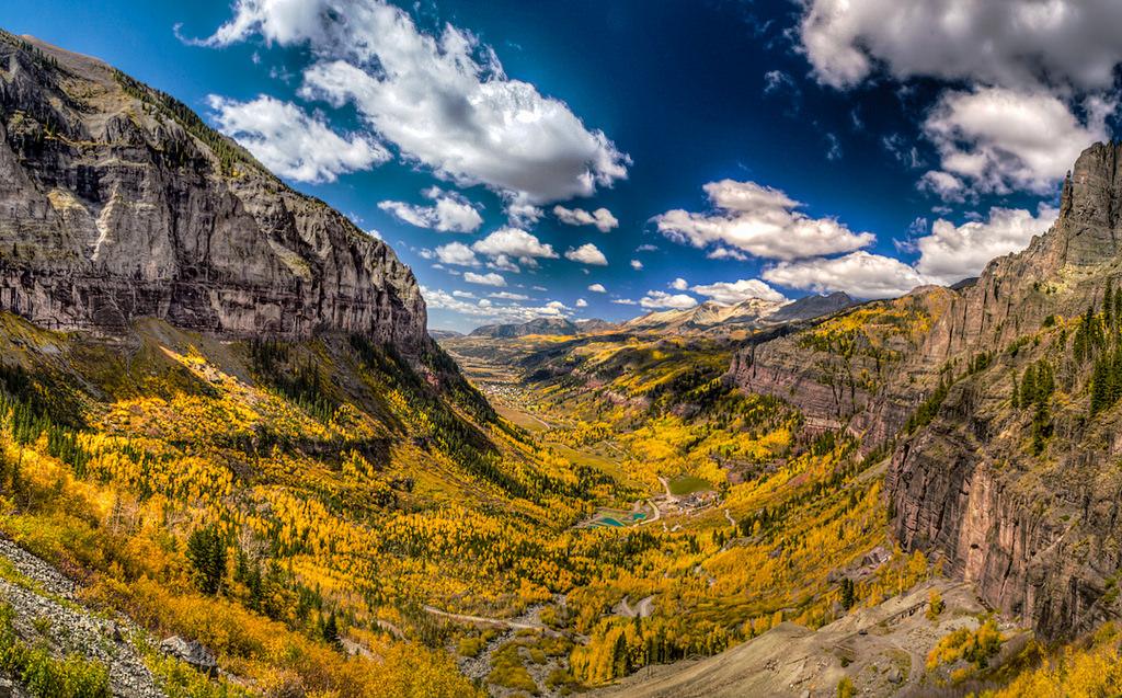 Unaweep-Tabeguache Scenic Byway Colorado