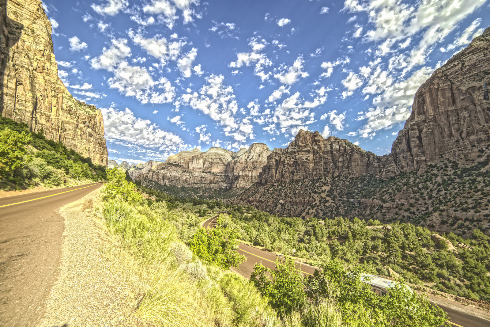 Zion Canyon Loop Utah