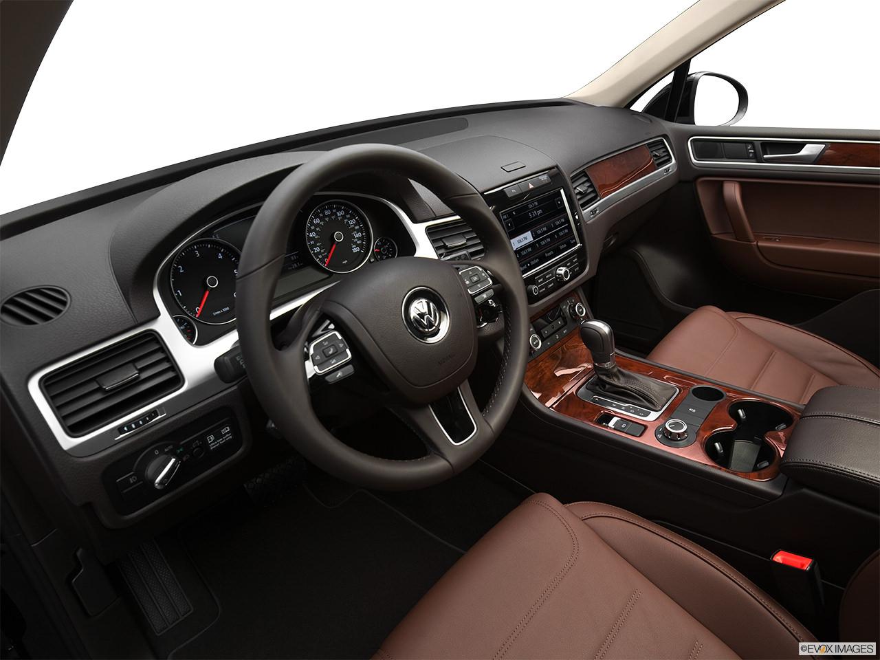 Volkswagen Touareg TDI 2012 Interior