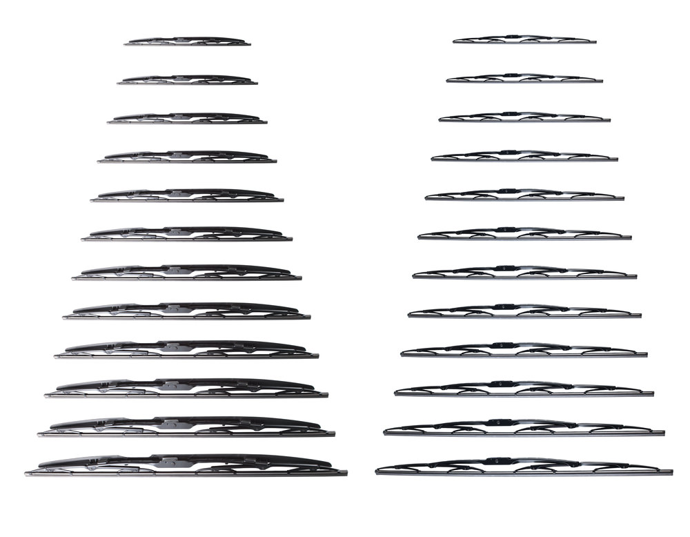 Different Size Wiper Blades