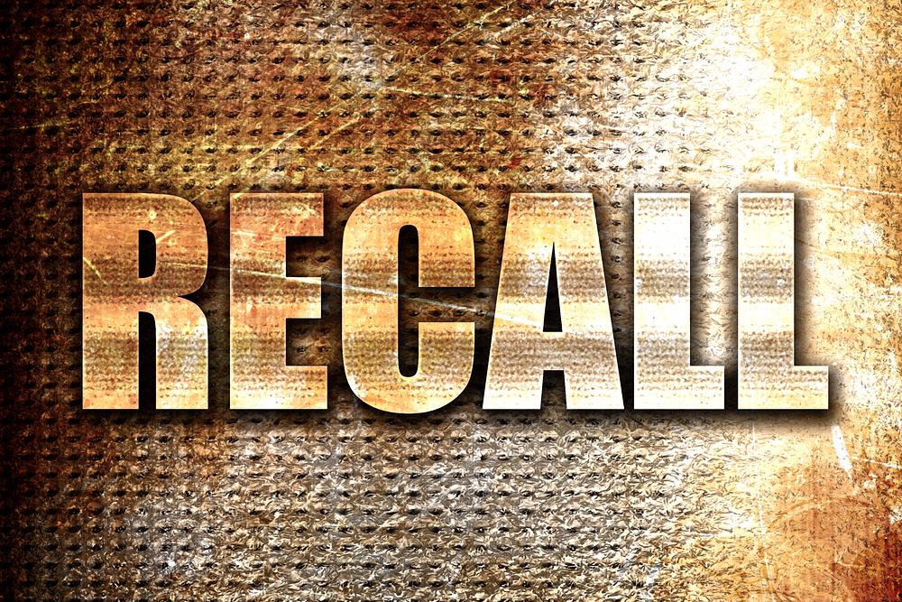 recall notice