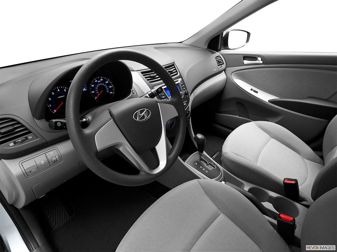 hyundai accent 2012 interior