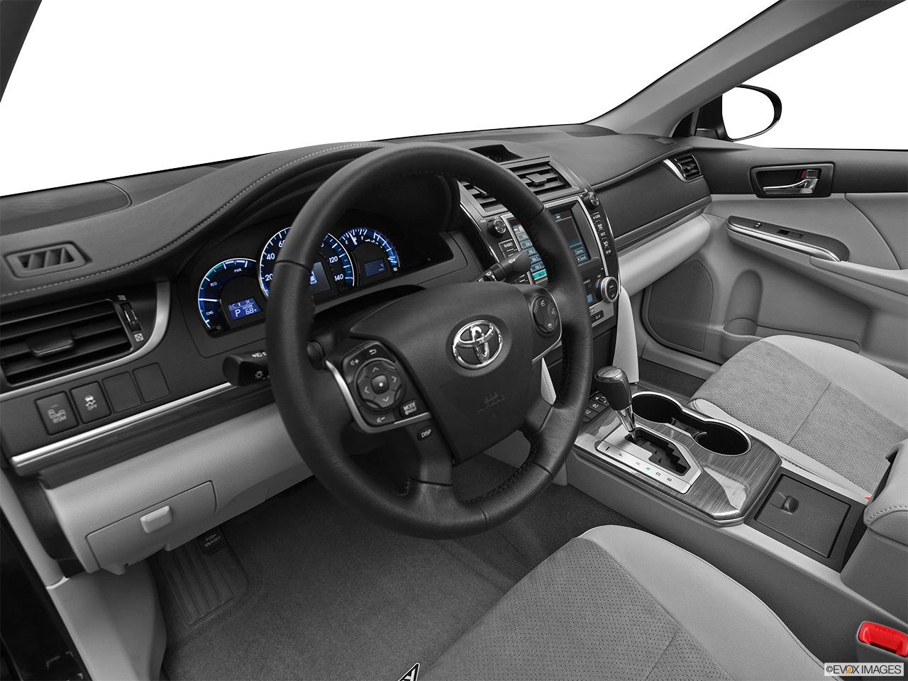 toyota camy hybrid 2012 interior