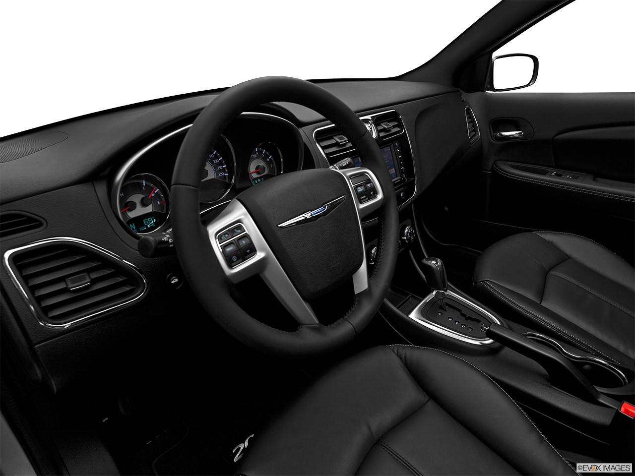 chrysler 200 2012 interior