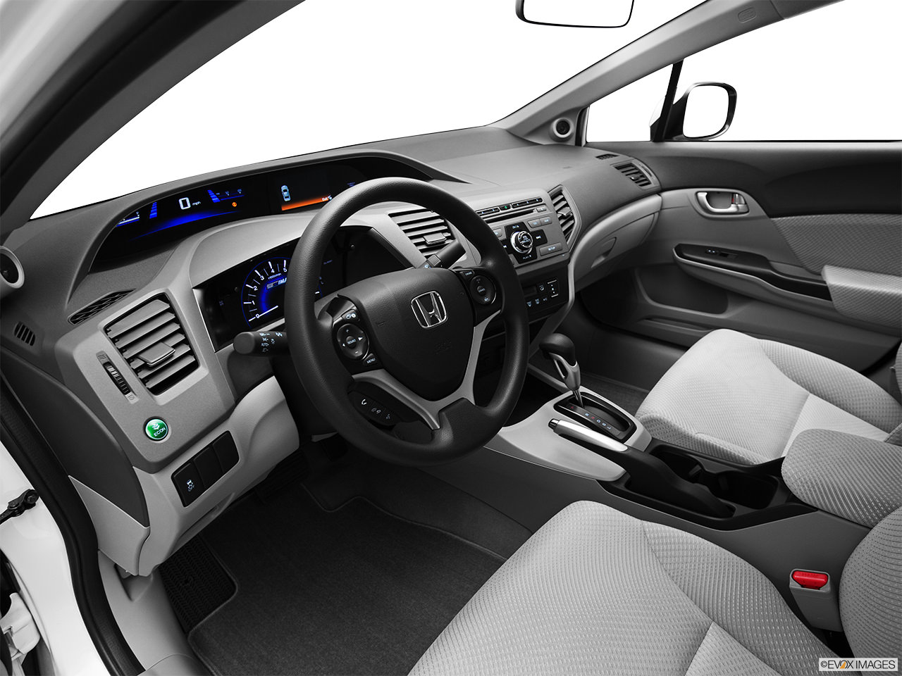 honda civic hybrid 2012 interior
