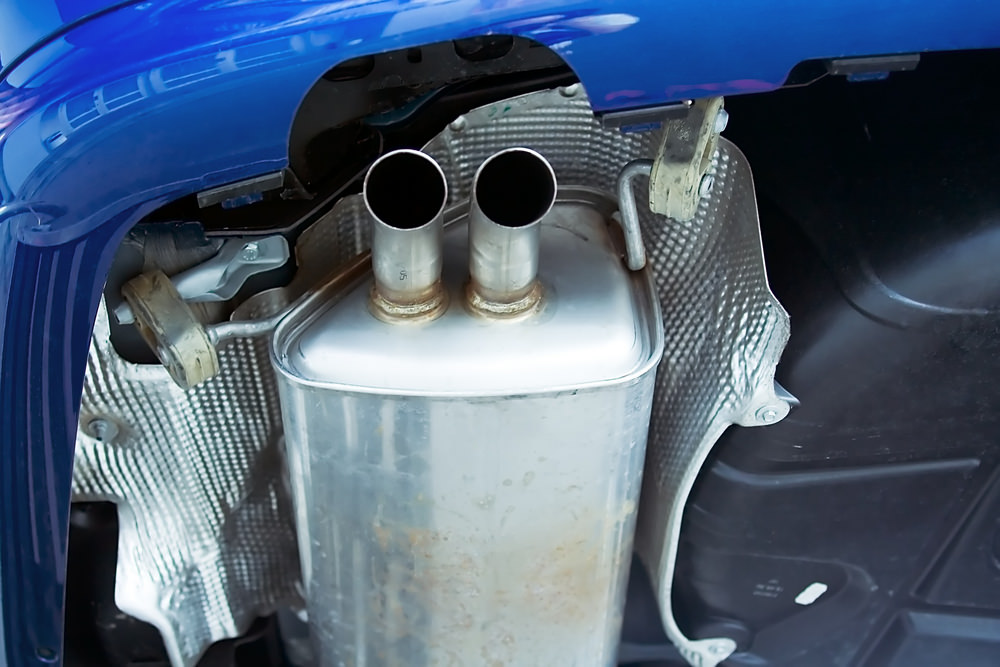 exhaust system metal