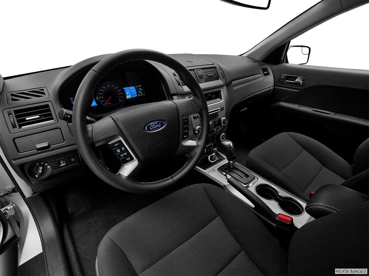 ford fusion hybrid 2012 interior
