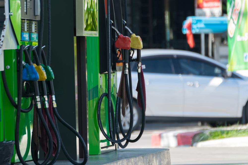 gas station pumps
