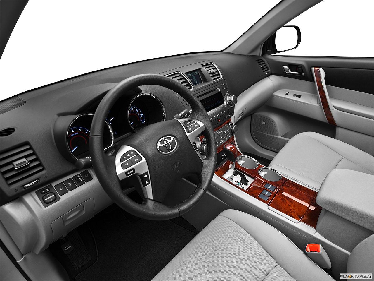 toyota highlander 2012 interior