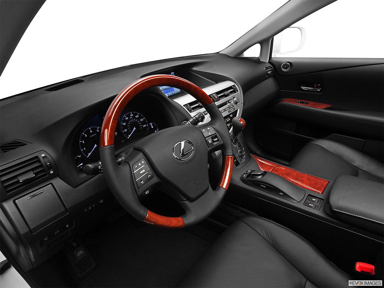 lexus rx 2012 interior