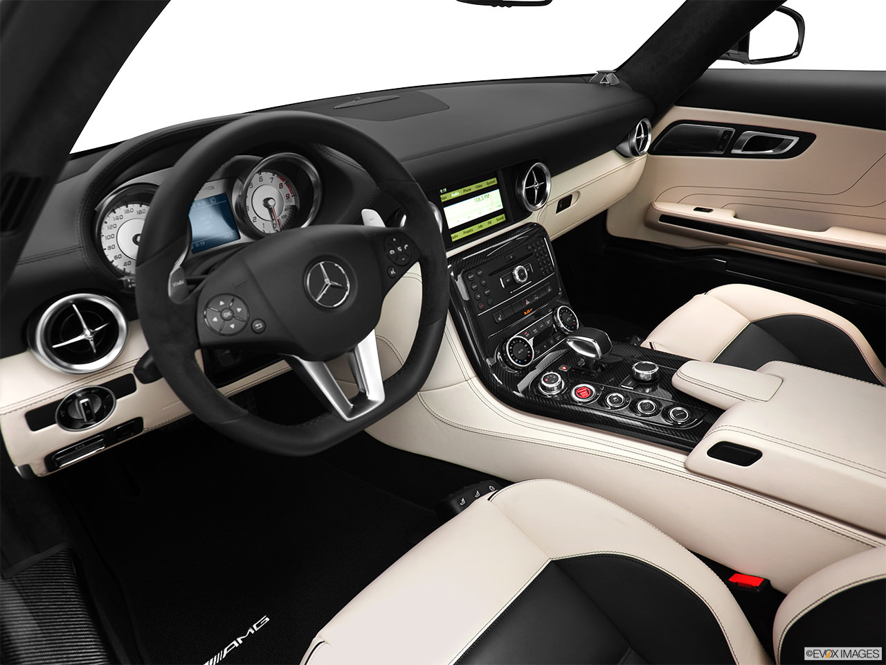 mercedes benz sls amg 2012 interior