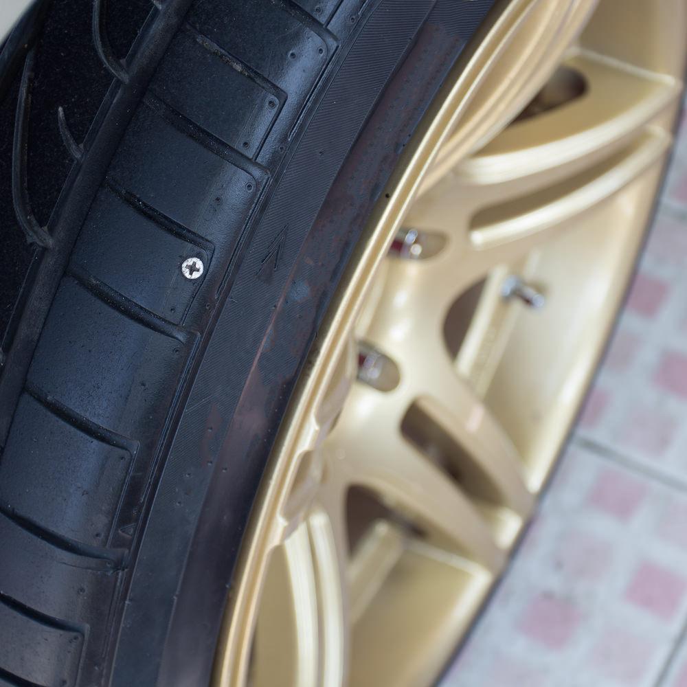 Run Flat Tires Nail Nail Ftempo
