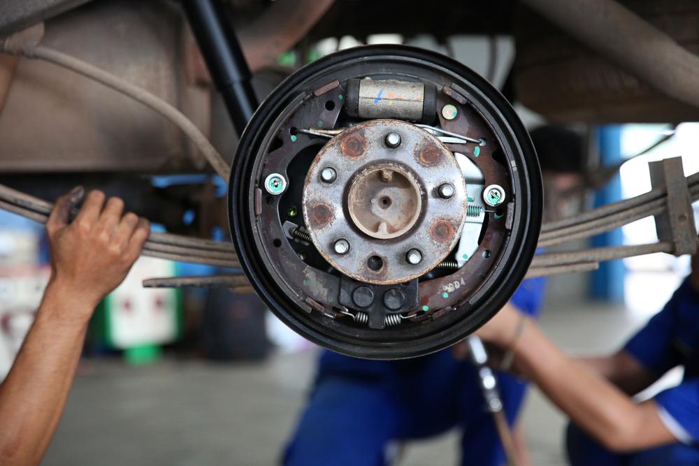 parking brake drum