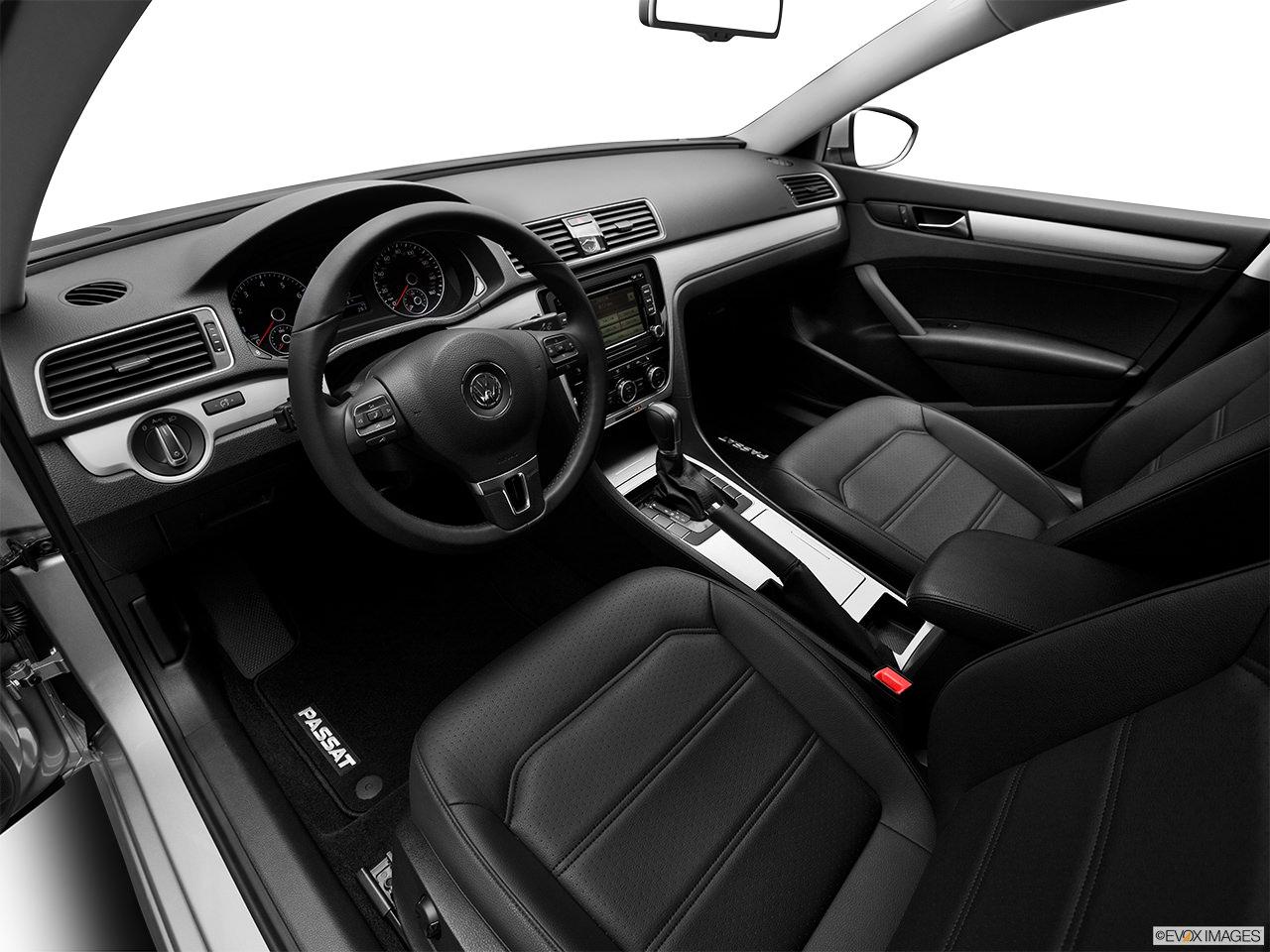 volkswagen passat 2012 interior