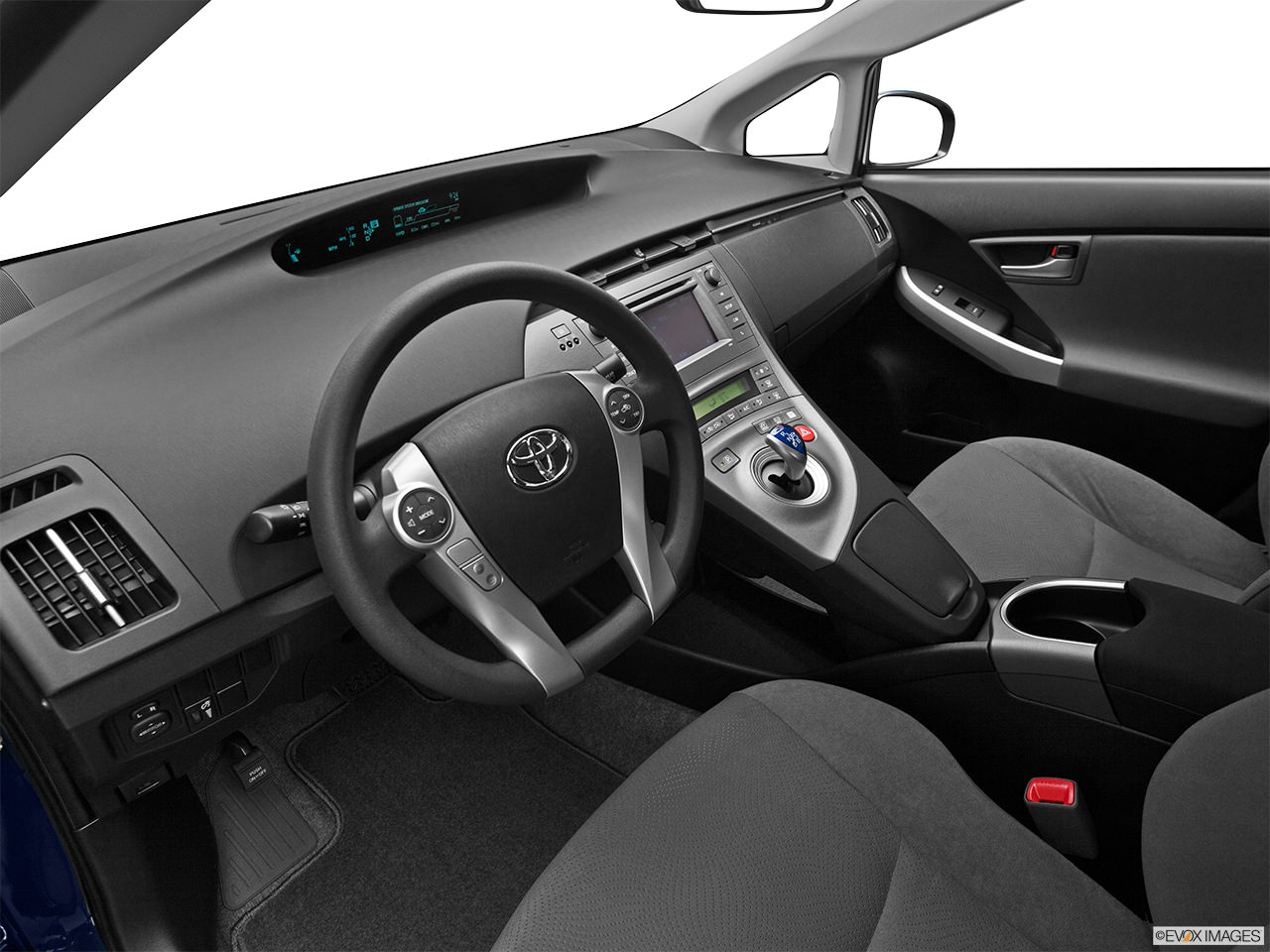 toyota prius 2012 interior