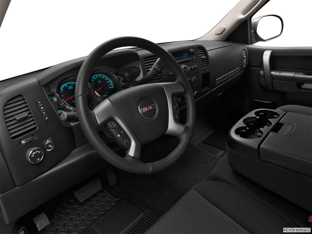 gmc sierra hybrid interior 2012