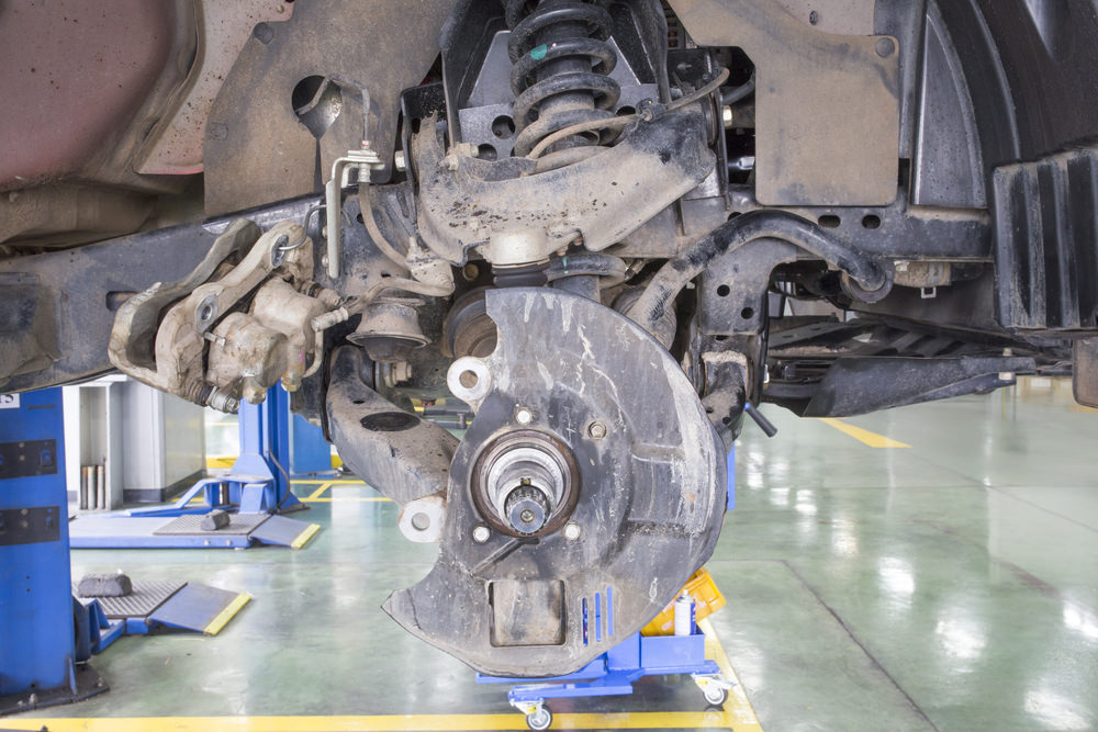suspension steering fail