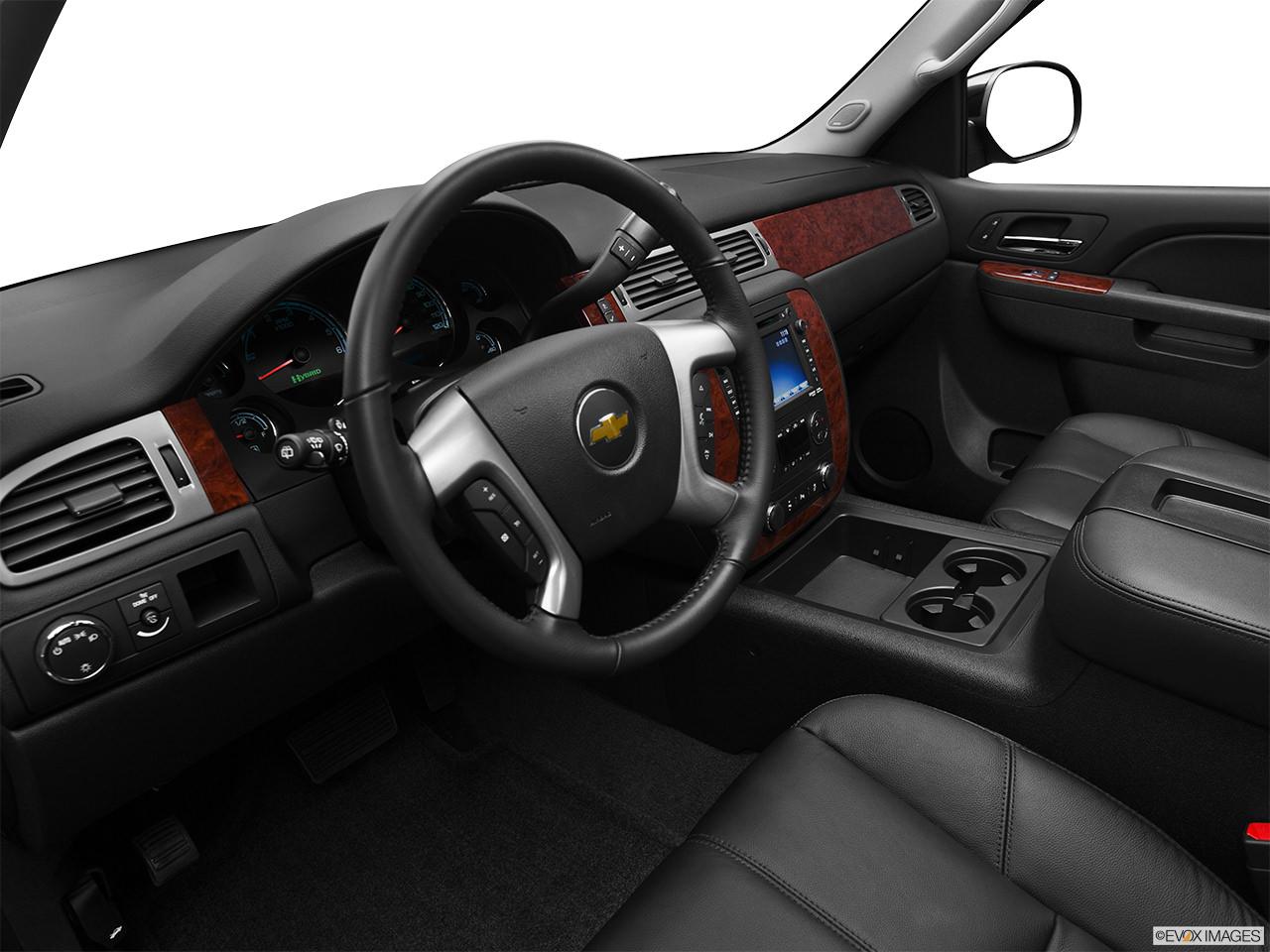 tahoe hybrid 2012 interior
