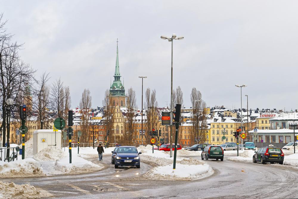 sweden road