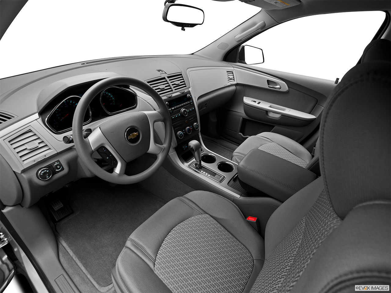 chevrolet traverse 2012 interior