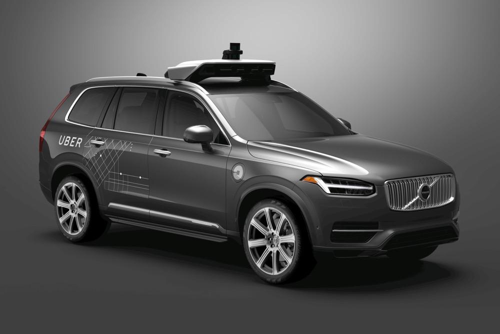 Volvo + Uber XC90