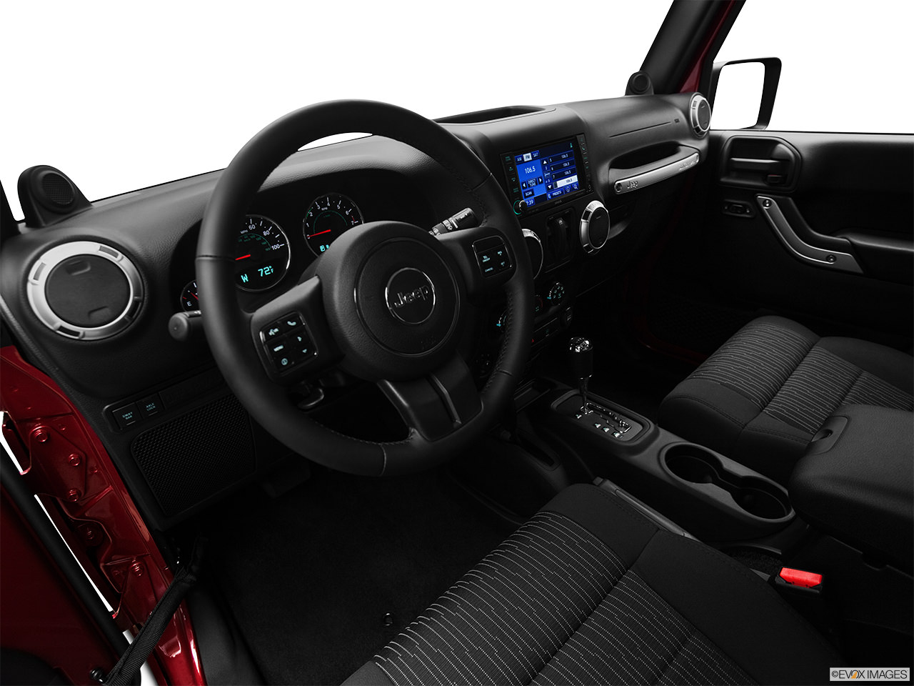 jeep wrangler 2012 interior
